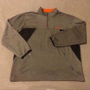 Hilfiger Athletics Metallic Fleece Lined Sweater